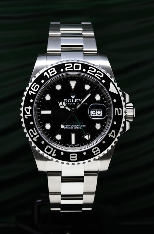 116710LN GMTマスター2 スポーツ 自動巻き(ブラック)オイスターブレスレット (1).jpg