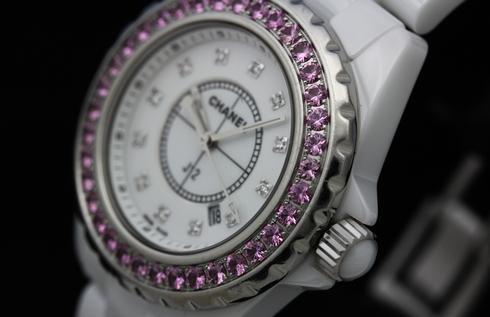 Chanel J12 H2010 White Ceramic 33mm Quartz Watches (5).jpg