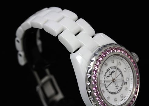 Chanel J12 H2010 White Ceramic 33mm Quartz Watches (7).jpg