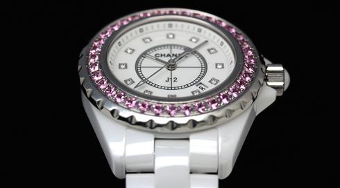 Chanel J12 H2010 White Ceramic 33mm Quartz Watches (6).jpg