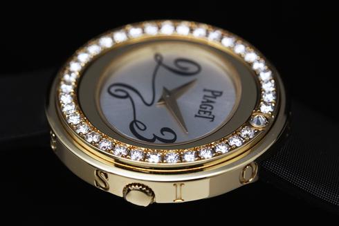 【PIAGET】possession bezel diamond YG GOA32506 (8).jpg