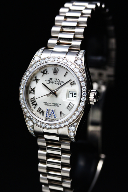 ROLEX Datejust Diamond Bezel Ref.179159 K18WG Lady's  (1)[1].jpg