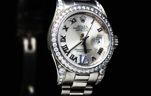 ROLEX Datejust Diamond Bezel Ref.179159 K18WG Lady's  (4)[1].jpg