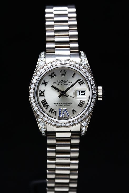 ROLEX Datejust Diamond Bezel Ref.179159 K18WG Lady's  (8)[1].jpg