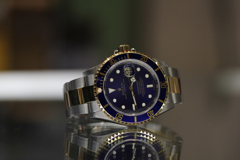 116613LB Submariner Blue Dial