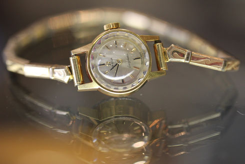 Omega Ladymatic Cal.661 Ref.551004 Move.sir.19741