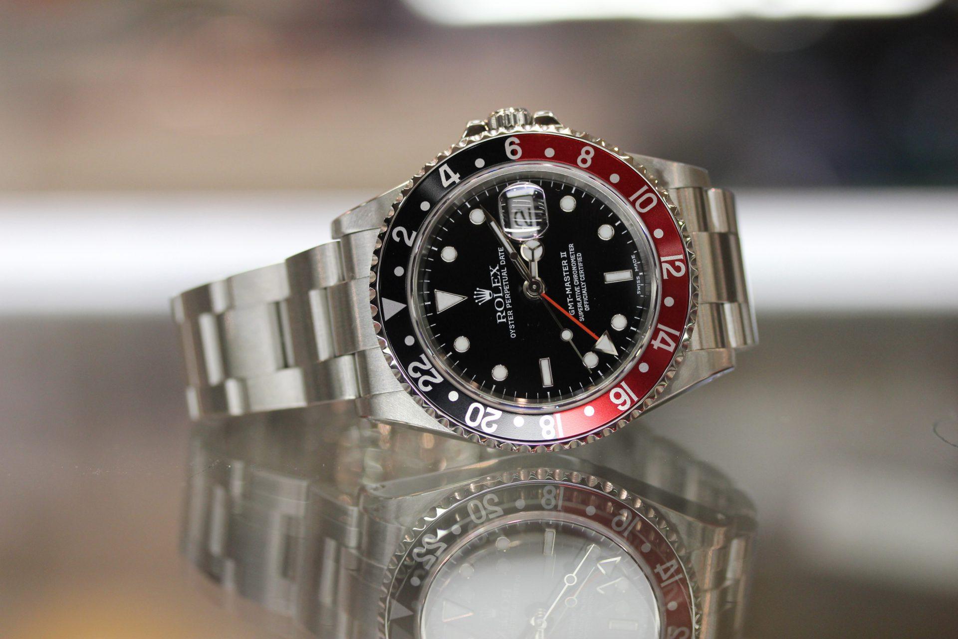 Rolex 16710 GMT MASTER II-RED/BLACK