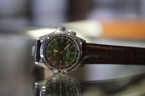 SEIKO Alpinist Mechanical SARB017