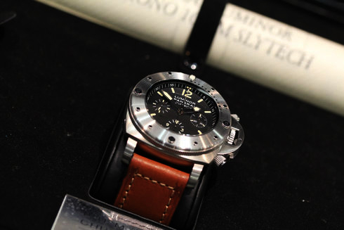 OFFICINE PANERAI Luminor Submersible Chrono SLYTECH PAM00202 47mm black Dial Special Edition