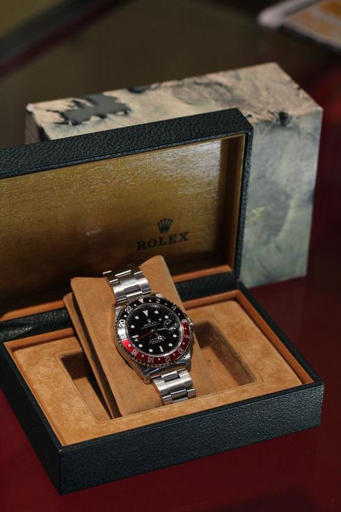 Rolex GMT MASTER II-RED/BLACK 【Ref.16710】