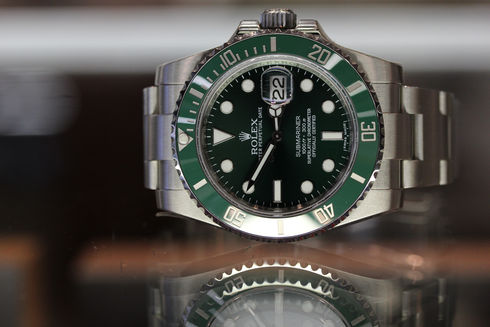 ROLEX Green Submariner Date Ref.116610LV