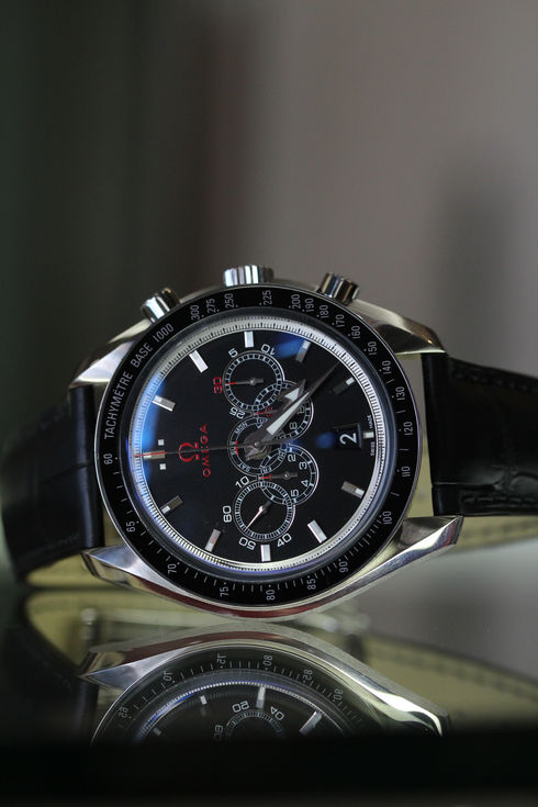 Specialities Olympic Timeless Collection Broad Arrow 5-Counter Chronograph【Ref.321.33.44.52.01.001】