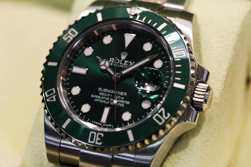 Green Submariner Date Ref.116610LV