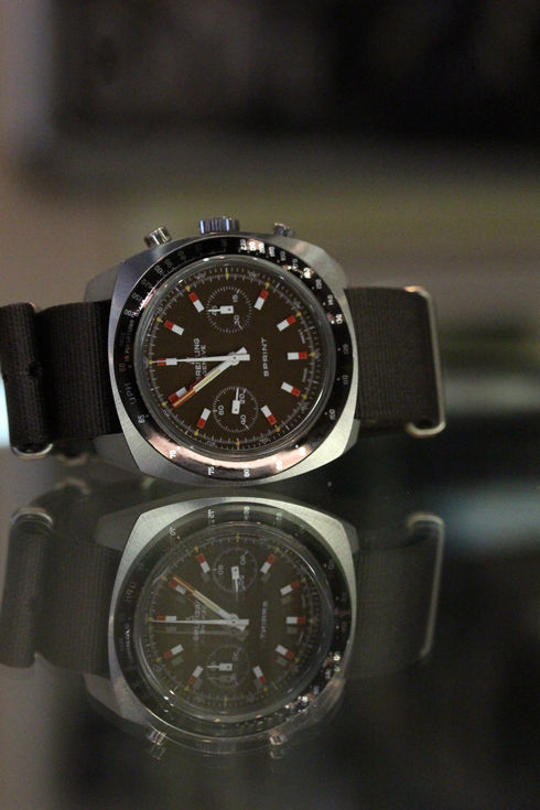 Breitling Sprint chronograph Ref. 2016 valjoux7733