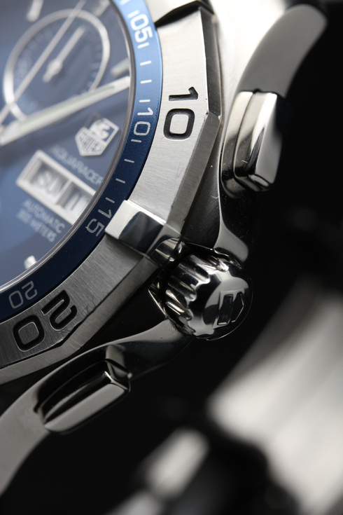 TAG HEUER NEW AQUARACER CHRONOGRAPH DAY-DATE CAF2012.BA0815