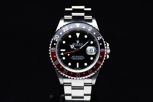 GMT MASTER II-RED/BLACK  Ref.16710