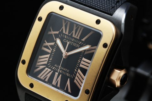 Cartier Santos 100 Carbon W2020009