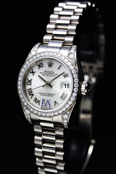 Datejust Diamond Bezel Ref.179159 K18WG Lady's