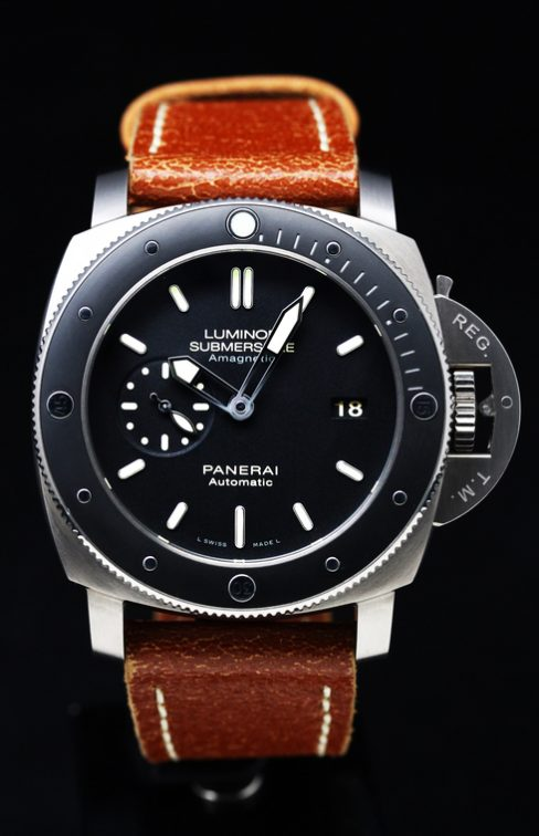 Luminor Submersible 1950 Amagnetic 3 Days Automatic Titanio – PAM00389