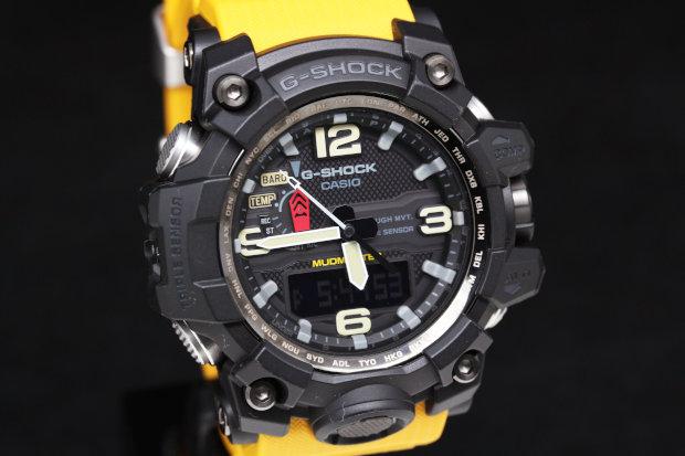 カシオ GWG-1000-1A9JF Gショック マッドマスター SSxラバーx樹脂 ソーラー電波メンズ時計