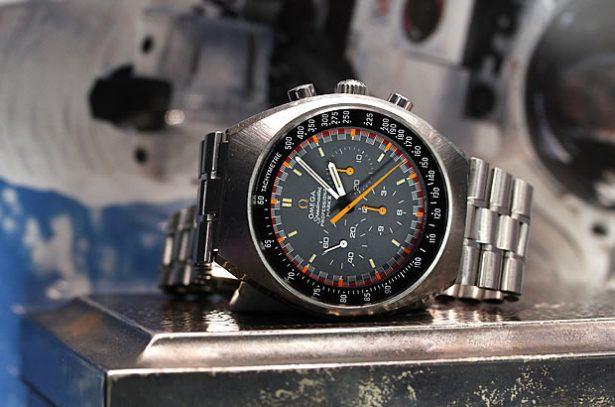 オメガ スピードマスター マーク2 グランプリダイヤル Ref.145.014