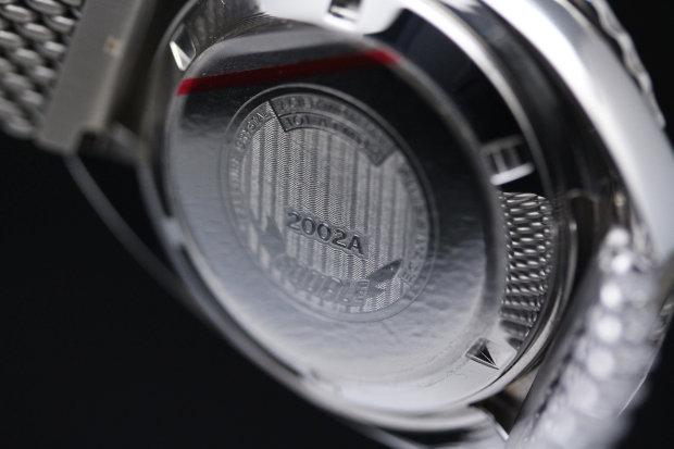 スクワーレ 腕時計 2002コレクション 2002BLBL-R ブルーダイアル×ブルーベゼル×シルバーメッシュベルト