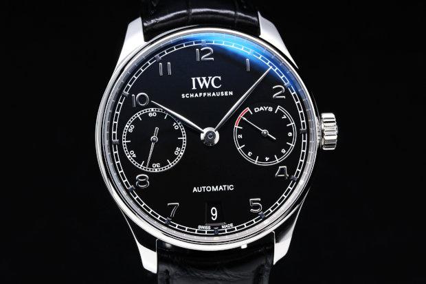 IW500703 ポルトギーゼ オートマティック 自動巻き(ブラック)
