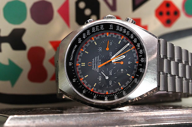 オメガ スピードマスター マーク2 グランプリダイヤル Cal.861 Ref.145.014