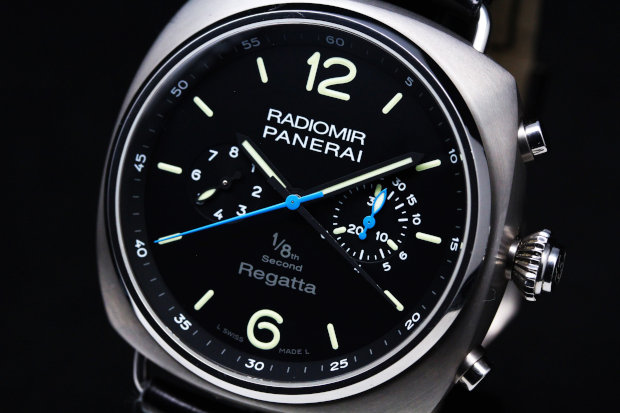 PANERAI Radiomir Regatta 2010 1/8 Second Split Chrono Titanino PAM00343