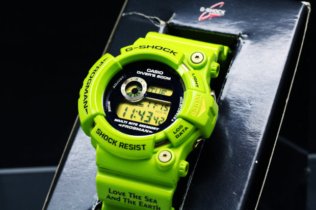 GW-200F-3JR G-SHOCK FROGMAN Love The Sea And The Earth