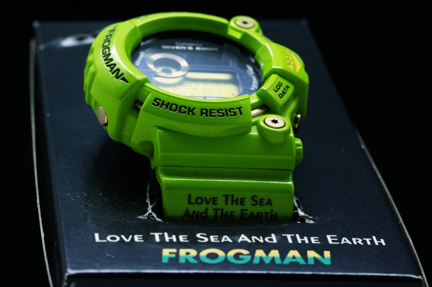 G-SHOCK FROGMAN Love The Sea And The Earth GW-200F-3JR