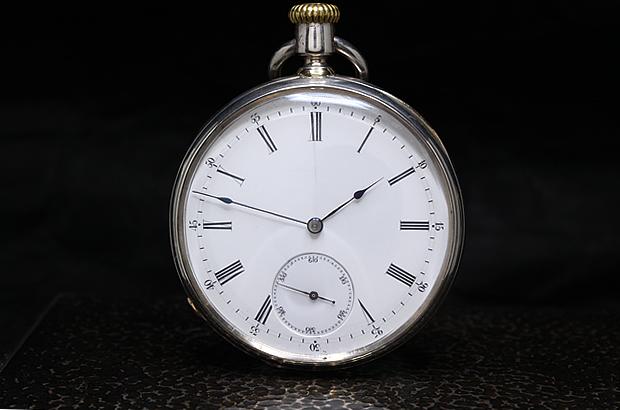 パテックフィリップ 懐中時計 1868年 アンクル式 SV無垢