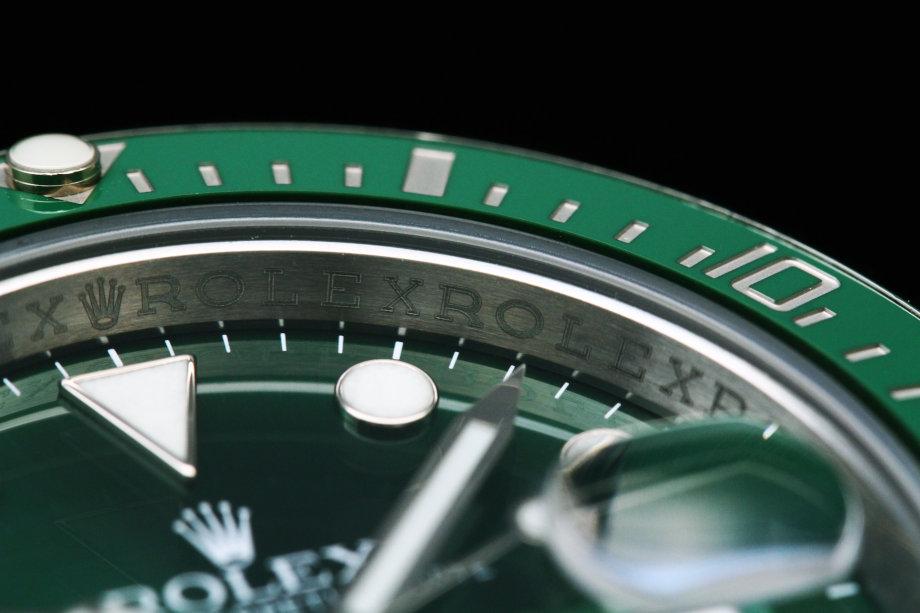 116610LVグリーンサブマリーナの買取価格 ロレックス買取