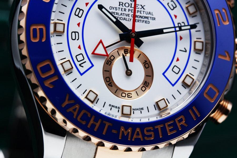 ロレックス ヨットマスターII Ref.116681