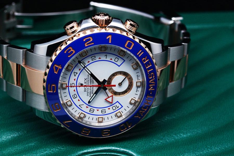 Rolex Yachtmaster II Men's Watch Model 116681