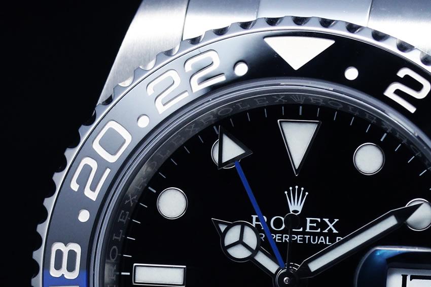 青黒 GMTマスター2 116710BLNR