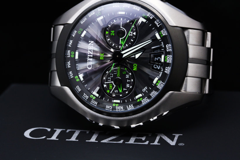 CITIZEN Promaster Eco-Drive Satellite Wave-Air CC1054-56E