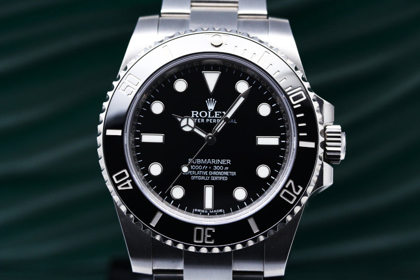 Rolex Submariner Automatic Black Dial Men's Watch 114060