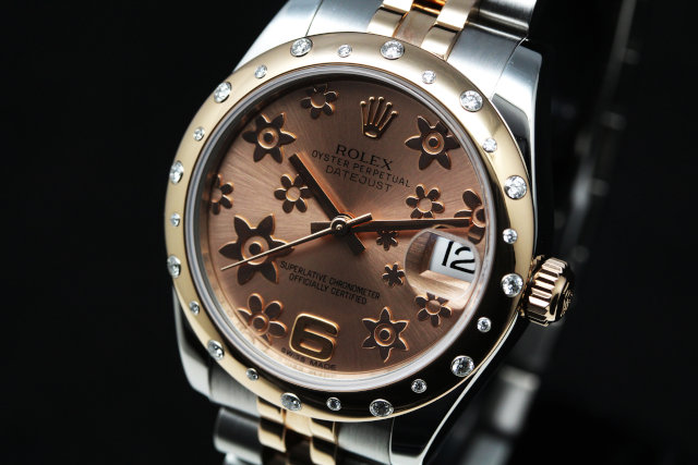 ROLEX Lady-Datejust 31 178341 PinkGold  Watch