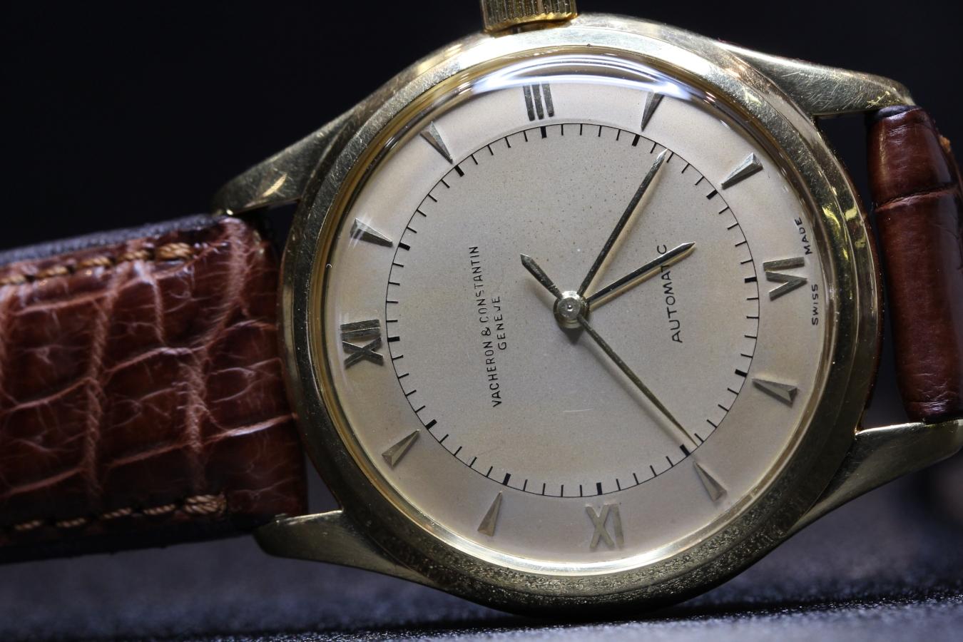 バセロン 18Kイエローゴールド ハーフローター Cal.477/1 1950's