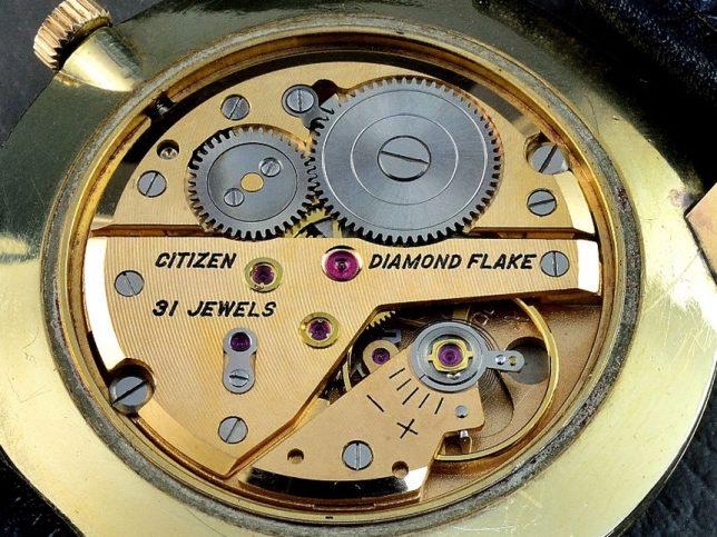 シチズン ダイヤモンド フレーク 31石 1963年