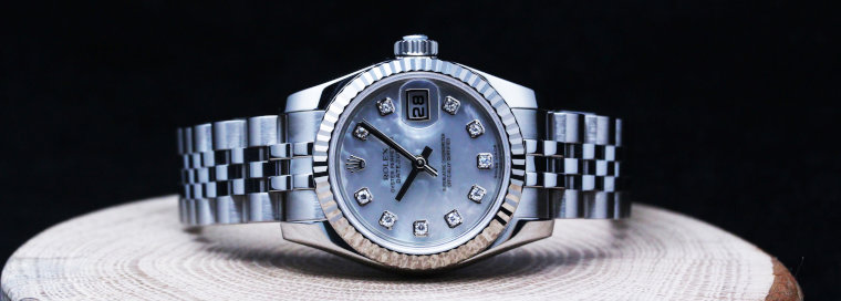 ROLEX DATEJUST 179174NG Ladies Watch (2)