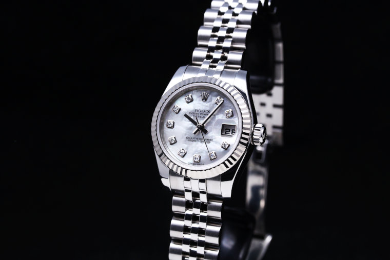 ROLEX DATEJUST 179174NG Ladies Watch (3)