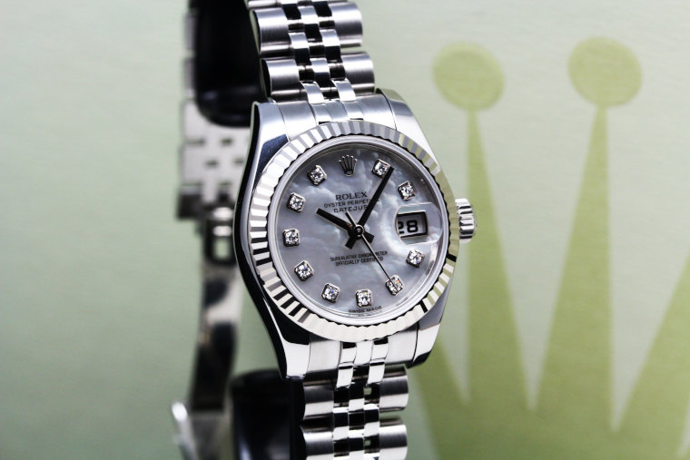 ROLEX DATEJUST 179174NG Ladies Watch (5)