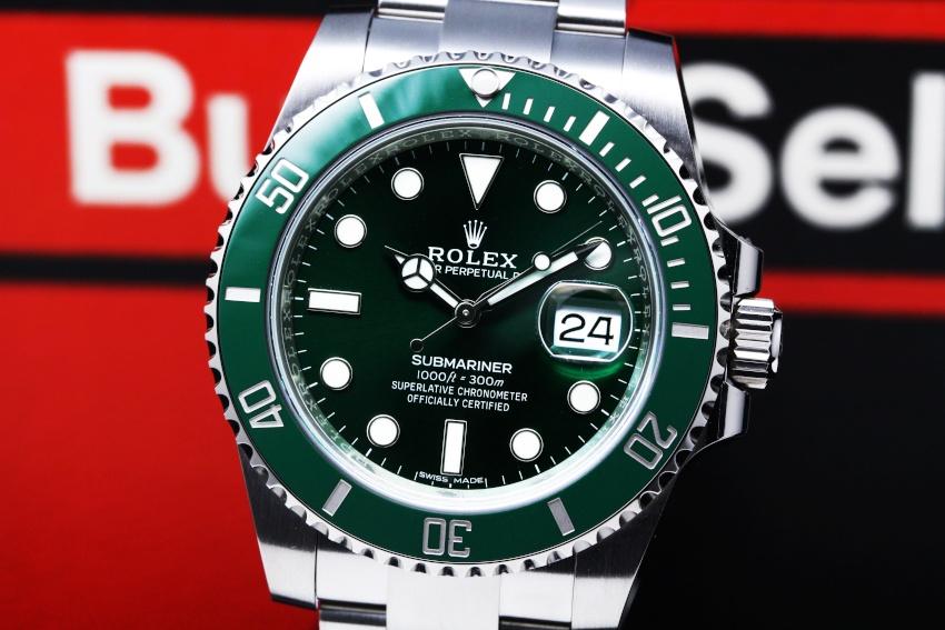 ロレックス ROLEX グリーン サブマリーナ デイト 116610LV 【新品】 時計 メンズ (3)