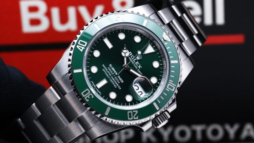 ロレックス ROLEX グリーン サブマリーナ デイト 116610LV 【新品】 時計 メンズ (6)
