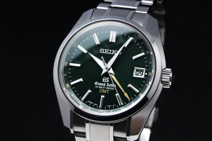 Grand Seiko Hi-Beat GMT With Green Dial SBGJ005