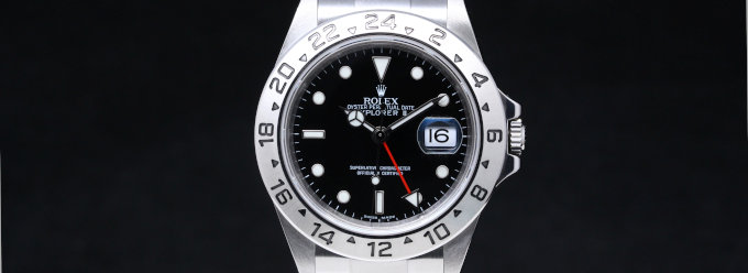 【ROLEX】ExplorerII Ref.16570 [USED]