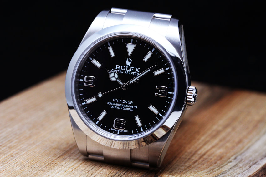 Rolex Explorer Watch : 904L steel Cal.3132 – 214270