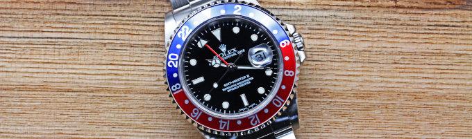 Rolex GMT Master II 16710 Pepsi Bezel - Kyotoya Watches